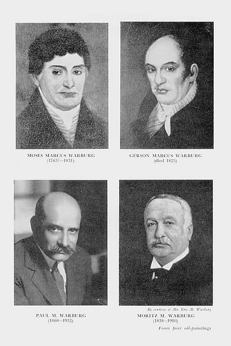 Warburg, Familie (Portraits)