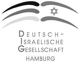 Deutsch-Israelische Gesellschaft Hamburg (Logo)