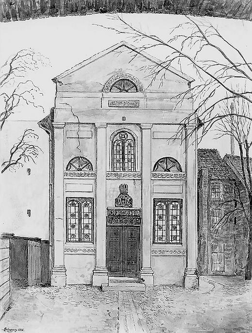 Synagoge Bäckerstraße